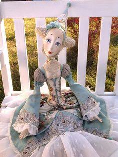 Кукольная мастерская ANNADAN: ЭНЖЕЛ полностью подвижная будурная кукла.