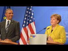 Live ab 16.45 Uhr: Barack Obama und Angela Merkel geben gemeinsame Pressekonferenz in Berlin — RT Deutsch