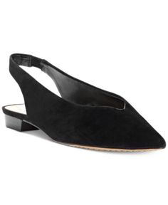 efa1a834611 Vince Camuto Maltida Slingback Flats - Black 8.5M Slingback Flats