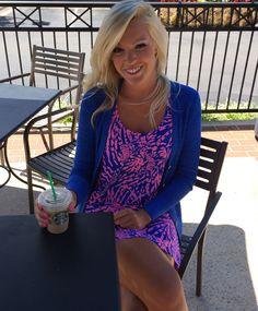 Starbucks and Lilly Pulitzer Fall BettyDress