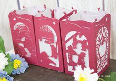 Snow White Paper Lantern