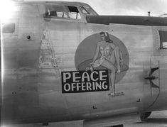 "B-24 Liberator - ""Peace Offering""."