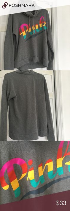 """VS PINK COWL NECK SWEATSHIRT VS PINK COWL NECK SWEATSHIRT    please do not comment """"lowest price"""" or ask if i will take an offer, make negotiations with the offer button please ❤️😋   buy more, if you bundle you get 15% off ! just trying to be helpful :) PINK Victoria's Secret Tops Sweatshirts & Hoodies"""