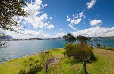 Clark Island, Sydney Harbour National Park.