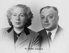 Franca and Wolfgang Pauli © CERN, Geneva