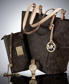 Michael Kors Purse #Michael #Kors #Purse MICHAEL Michael Kors The Signature Deluxe Gift Set