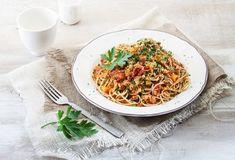 Σπαγγέτι Bolognese με κιμά σόγιας-featured_image