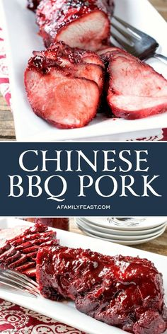 Outstanding Our delicious Chinese BBQ Pork can be eaten as is, or added to so many delicious Asian recipes. The post Our delicious Chinese BBQ Pork can be eaten as is, or added to so many delicious Asian recipes…. appeared first on Amas Recipes . Chinese Bbq Pork, Chinese Chicken Recipes, Easy Chinese Recipes, Korean Chicken, Korean Beef, Asian Food Recipes, Chinese Food Dishes, Amazing Food Recipes, Party Food Recipes