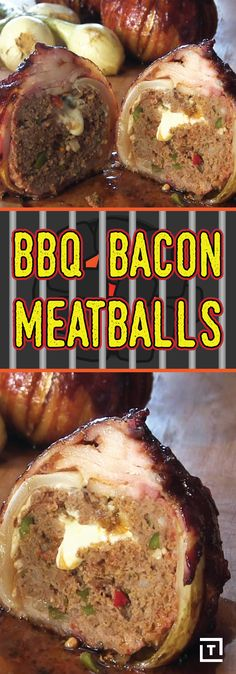 This meatball is spiced to perfection, stuffed with Oaxaca cheese, wrapped in crispy bacon, and covered in a homemade chipotle BBQ sauce. These cheesy balls of bacon and chorizo are sure to be in hot pursuit.