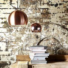 Lounge Pendant (Copper) | Lighting | Accessories