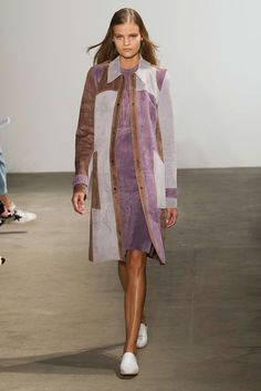 4 Amazing Spring/Summer 2015 Trends From New York Fashion Week London Fashion Weeks, New York Fashion, Big Fashion, Colorful Fashion, Fashion Show, Spring 2015 Fashion, Spring Summer 2015, Wrap Around Dress, Bohemian Chic Fashion