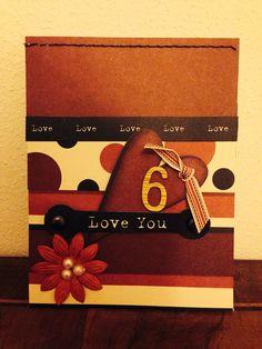 Anniversary's card