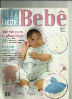 Artes com amor by Geice: Revista trico croche bebe