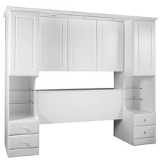 Newbury Tall Overbed Unit From Glwells Ltd Seems To Have Built In Lights Closet Cocina