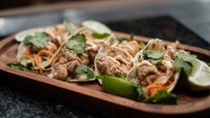 Five Spice Fried Chicken Tacos Chinese Spices, Chinese Cooking Wine, Fried Chicken Taco, Chicken Tacos, Masterchef Recipes, Pickled Carrots, Fresh Lime Juice, Network Ten, Recipe Collection