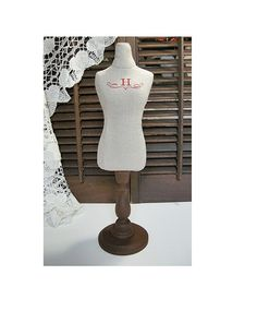 France cotton Linen style initialH home decoration Dress by lin168, $59.00