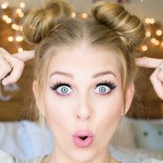 Space Buns || Double Buns Tutorial