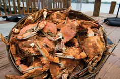 Check out the Crab Shack at Deep Creek and have a crabby summer :) http://www.dclcrabshack.com/