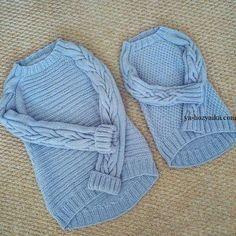 Красивый пуловер для девочки спицами. Пуловер спицами с асимметричным низом