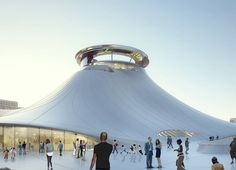 Chicago Finally Agrees to Build the George Lucas Museum - The George Lucas Museum of Narrative Art designed by Beijing-based MAD Architects got approved for zoning. The post Chicago Finally Agrees to Build the George Lucas Museum appeared first on WIRED. Architecture Images, Organic Architecture, George Lucas Museum, Treasure Island, Screen Shot, San Francisco, Chicago, Urban, Culture