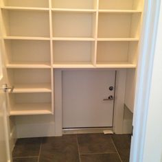 Garage To Pantry Access Door Dream Home Kitchen Pantry