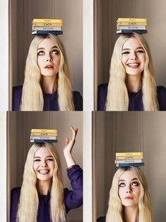 Elle Fanning na Vogue UK (2014)