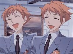 Ouran Host Club, Ouran Highschool Host Club, Host Club Anime, High School Host Club, Hikaru Hitachiin, School Clubs, Hot Anime Guys, Anime Boys, Photos