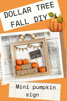 Dollar Tree Fall, Dollar Tree Decor, Dollar Tree Crafts, Fall Diy, Diy Halloween Tree, Fall Art Projects, Distressed Signs, Sisters Forever, Autumn Ideas
