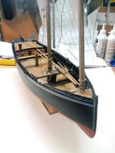 Modèle de canot sardinier douarneniste, c.1900