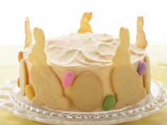 Raspberry-Lemon Easter Cake