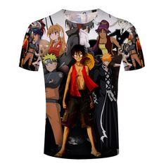 Anime Printed T-Shirts (6 Types) //Price: $55.15 & FREE Shipping //    #animefreak #naruto