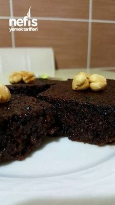 Yoğun Islak Kek (brownie)
