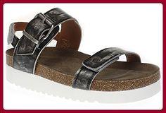 Ca Shott 15070 - Damen Schuhe Sandale Pantolette - 476-white-polido, Größe:38 EU - Sandalen für frauen (*Partner-Link)