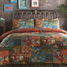 Vintage Tapestry Patch Bedding Set https://www.sleepypeople.com/vintage-tapestry-patch-bedding-set.html