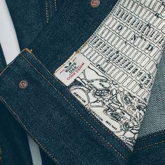 458f8eb2cef Taylor Stitch denim jacket lining reveal sanborn map fucking cool Taylor  Stitch