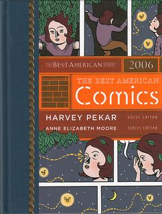 Book cover illustration for Best American Comics 2006, published by Houghton Mifflin