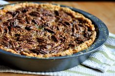 Old-Fashioned Pecan Pie: A Corn Syrup-Free Recipe | The gonna try this one
