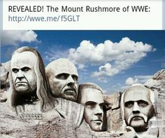 Mt Rushmore of WWE: Undertaker, Stone Cold Steve Austin, Shawn Michaels & Hulk Hogan. This fandom keeps getting weirder Austin Wwe, Steve Austin, Wwf Superstars, Wrestling Stars, Stone Cold Steve, Shawn Michaels, Nerd, Hulk Hogan, John Cena