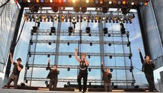 The 90s and 80s are not over in Delaware as over 5,000 screaming fans packed the Grandstand at the state fair on Sunday to watch New Kids On The Block