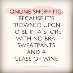 Online shopping perks