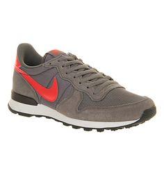 Nike Nike Internationalist Dark Pewter Crimson