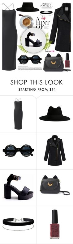 NewChic by dora04 on Polyvore featuring Miss Selfridge, Yves Saint Laurent, Chanel and Kester Black