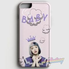 Melanie Martinez Doodle case provides a protective yet stylish shield between your iPhone 6/6S and accidental bumps, drops, and scratches. Features slim and lightweight profile, precise cutouts, and p