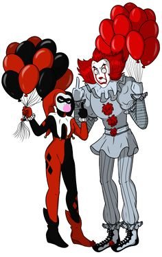 Pennywise and Harley