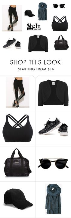 """Gym"" by unknown-style-cxx ❤ liked on Polyvore featuring Hervé Léger, adidas, rag & bone and Toast"