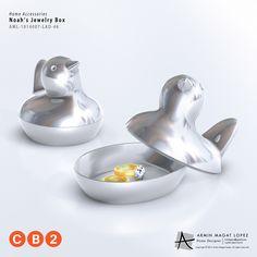 Bird Trinket Jewelry Box by Armin Magat Lopez - Work