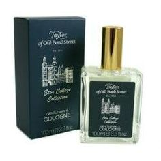 Taylor of Old Bond Street Eton College Cologne 100 ml cologne by Taylor of Old Bond Street. $36.80. Please read all label information on delivery.. 100 ml cologne. Country of origin: England. Taylor of Old Bond Street colognes have been able to combine masculine fragrances with an astringent.