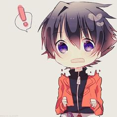 This little friendship-obsessed wimp I have to admit is extremely cute as a chibi... Yuki you frustrate me with you're damned adorableness XD (Future Diary)