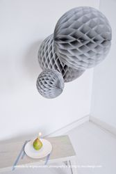 Honeycomb ball, Product by engelpunt.com: photography & styling by donydesign.com
