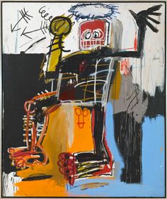 Jean-Michel Basquiat, Untitled, 1981, Acrylic, oil stick and pencil on canvas, 182,9 x 152,4 cm